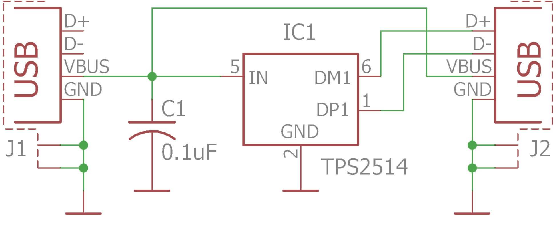 Usb Charging Without Fear Powered Mobile Phone Charger Circuit Diagram The One Particularly Bad Cable I Was Using Introduced A Significant Voltage Drop Forcing My Samsung Device Switching To Slow Mode